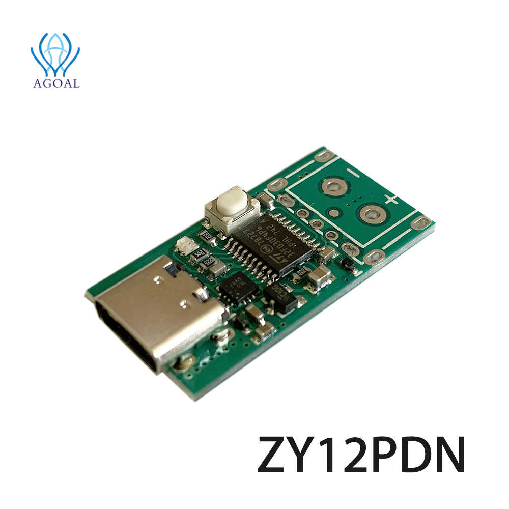 ZY12PDN PD2.0 3.0 to DC Decoy Fast Charge Detection Module Trigger Poller Type-C