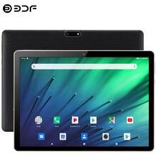 Tablette Pc de 10 pouces, Android 9.0, Octa Core, Google Market, 3G, 4G LTE, double SIM, double caméra, verre trempé 2.5D, nouvelle mise à jour