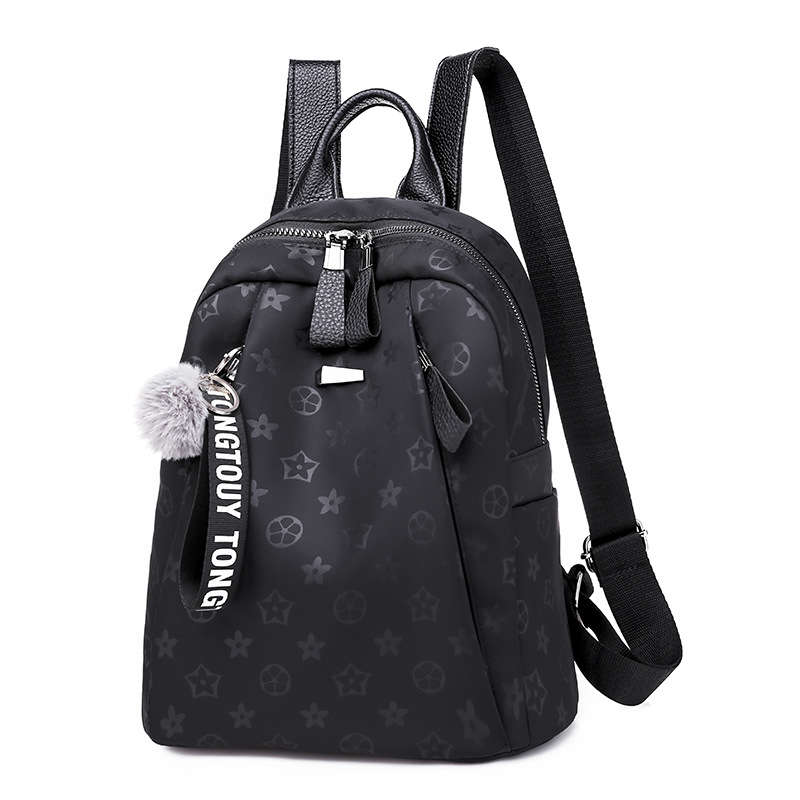 Buy 2018 Winter New style presbyopia backpack versatile casual lightweight oxford cloth student school bag shoulder theft- for only 15.68 USD