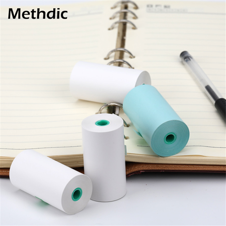 Methdic 4Pcs/set Colorful Durable Thermal Paper Roll For Small POS Machine