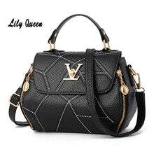цена на LILY QUEEN Clutch Bag Women Luxury Crossbody Messenger Bags Ladies Bolsa Female PU Leather Tote Handbag