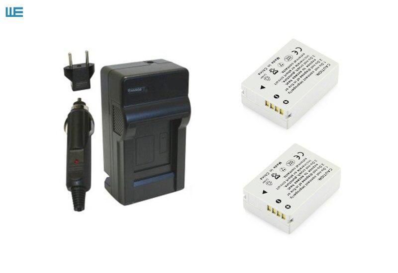 NB-10L, NB10L аккумулятор и зарядное устройство для Canon PowerShot SX60 HS, SX50 HS, SX40 HS, G15, G16, G1 X, G3 X - Цвет: Черный