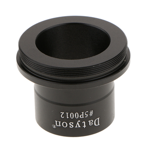 Image 4 - Metal 1.25 to T2 / 1.25 inch Eyepiece Insertion to M42 Prime Telescope T Adapter #5P0012