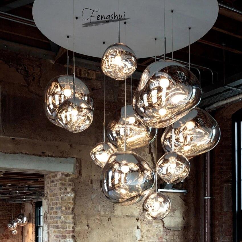 Luzes led nórdicas para iluminação moderna, pingente de macaron deco, lâmpada criativa, industrial, pvc, lava, loft, bar, café, lâmpada suspensa