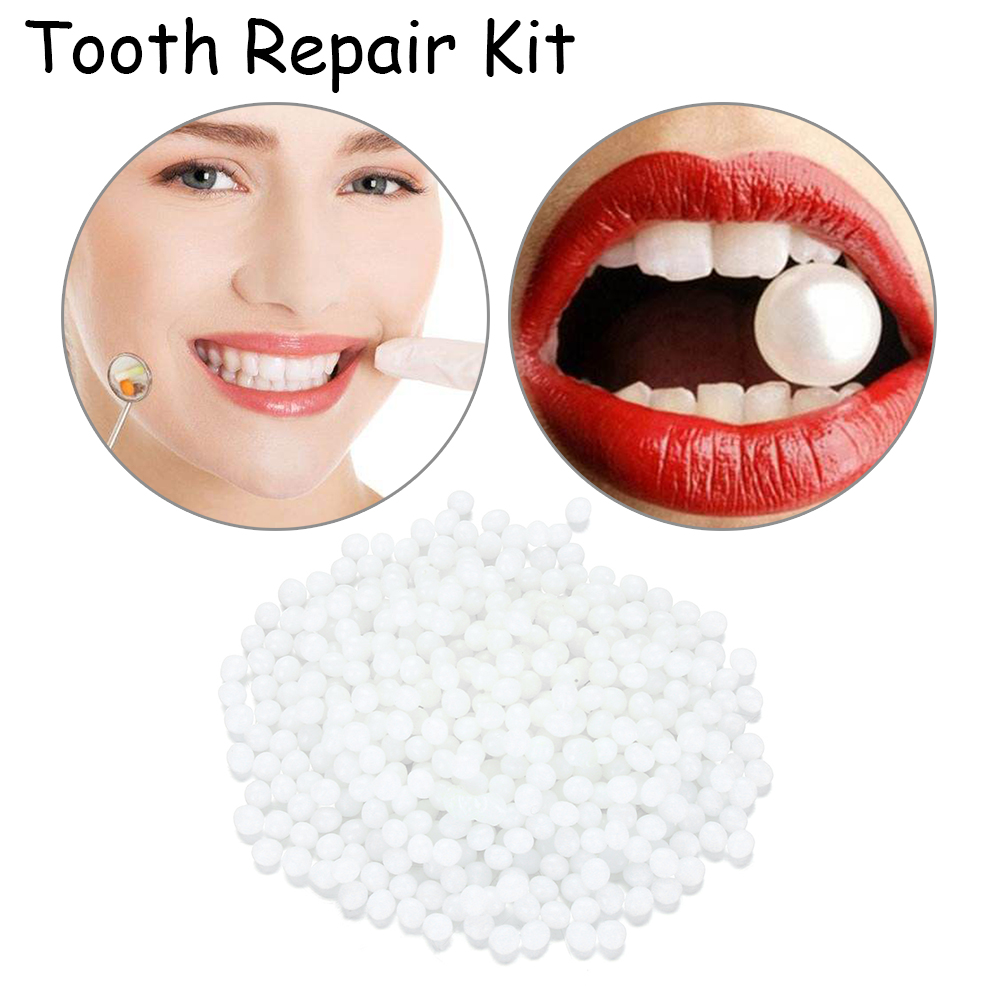 Solid Tooth Temporary Replacement Filling Material 15/25g Missing Denture Retainer Self-made Prosthesis Material DIY Repair Kit