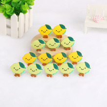 Baby Necklace Silicone Beads Food-Grade Kovict Teething-Toys of Lemon 5pcs Different-Colors