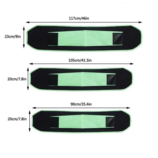 Men Women Unisex Waist Trimmer Belt neoprene Weight Loss Sweat Band Wrap Tummy Stomach Sauna Sweat Belt 2