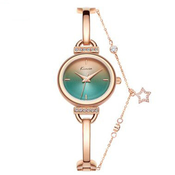 Popular Rose Gold Women Bracelet Watches Fashion Luxury Quartz-Watches Brand Ladies Casual Dress Sport Watch Clock