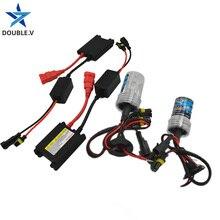 Car bulb 55W H1 H3 xenon H7 H4 H8 H10 H11 H27 HB3 HB4 H13 9005 9006 H9 Xenon lights  Car HID headlight Slim Ballast kit Xenon