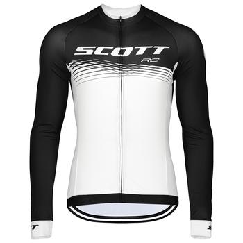 Scott koszulki rowerowe 2021 Pro zespół rowerowy rower górski koszule jesień MTB Bike Racing oddychająca odzież rowerowa tanie i dobre opinie NO (pochodzenie) POLIESTER Pełne summer Zamek na całej długości Cycling Dobrze pasuje do rozmiaru wybierz swój normalny rozmiar