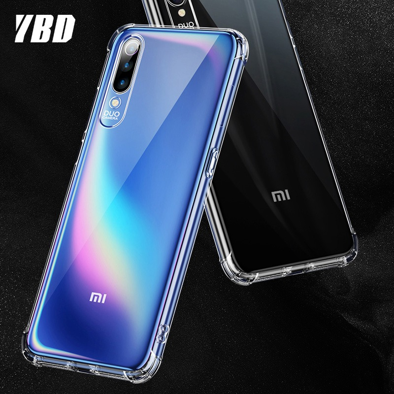 YBD <font><b>For</b></font> <font><b>Xiaomi</b></font> Redmi Note 8 7 PRO 7 7A 6 5 GO <font><b>Case</b></font> Cover <font><b>Silicone</b></font> <font><b>Shockproof</b></font> Transparent Protective <font><b>mi</b></font> <font><b>9</b></font> 9SE CC9E 8lite 9t K20 image