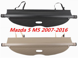 Rear Trunk Cargo Cover Security Shield High Qualit Auto Accessories For Mazda 5 M5 2007-2016