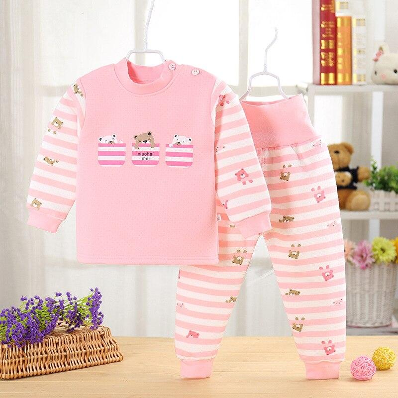 dos desenhos animados pulover calcas bebe meninos meninas outfits 03