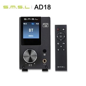 Image 3 - SMSL AD18 HIFI amplificateur Audio stéréo Bluetooth Apt X USB DAC amplificateur lecteur DSP pleine puissance numérique amplificador 2.1 pour haut parleur
