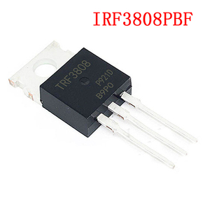 10 sztuk IRF3808PBF TO-220 IRF3808 MOSFET MOSFT 75V 140A 7 mln 150nC nowy oryginał