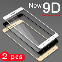 2Pcs tempered glass for xiaomi redmi note 6 pro 6A S2 phone screen protector for redmi note 4X 4 5 5A plus pro protective film