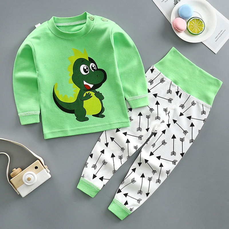 2020 NEW Autumn Children Sleepwear Clothes For Girl Newborn Baby Boys Clothing Tops+long Pants Sets Kid Clothes Baby Pajamas Set