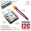 يمكن أن تكون مكدسة m5storm الرسمية سيرفو نموذج مشغل 16 قنوات (PCA9685) وتستخدم في وقت واحد ESP32 مجلس التنمية