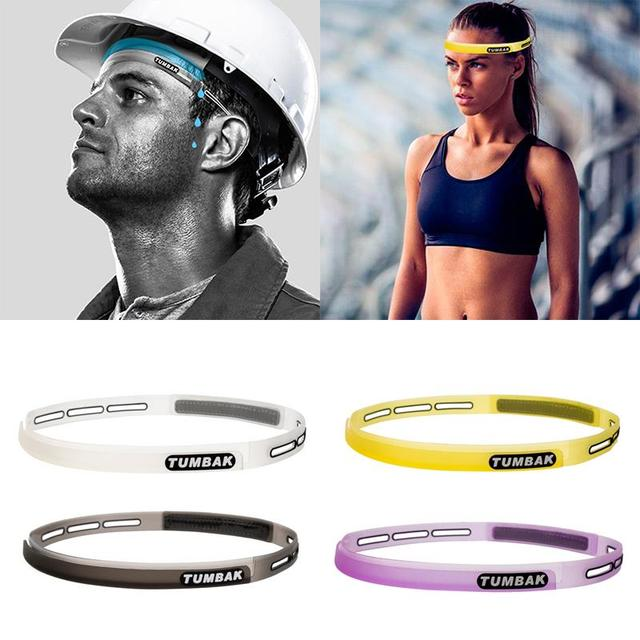 Head Sweatband Headband Sports Unisex Sweat Silicone Guiding Belt Fitness Man Woman Outdoor 4