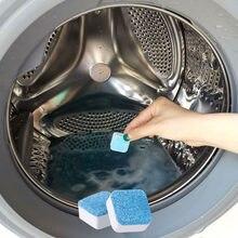 Limpiador de lavadora efervescente, herramienta de limpieza para el hogar, 1/4 lengüetas