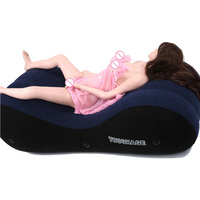 Inflatable Erotic Love Chair Sofa Bed Home Furniture Sexy Passion Adults Love Chaise Floor Air Sofas Bean Bags With Handcuffs