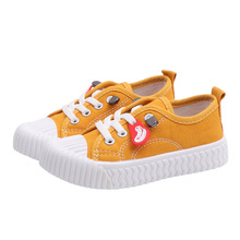 COZULMA Children Canvas Shoes for Boys Girls Sneakers- Kids Lace Up Sport Shoes Baby Toddler Student Outdoor Shoes Size 21-38 cozulma baby girls leopard canvas shoes boys fashion sneakers kids non slip casual shoes children lace up shoes size 21 30