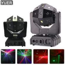 16X3W LED RGBW 4IN1 Laser Beam Strobe Move Head Light Stage Laser Projector DJ Disco Ball Prom Christmas Party Bar Club Indoor