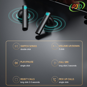 Image 3 - PJD Sports Running Earphones TWS Wireless Bluetooth Earphones Noise Reduction Earbuds with LED Display For Xiaomi Smart Phones