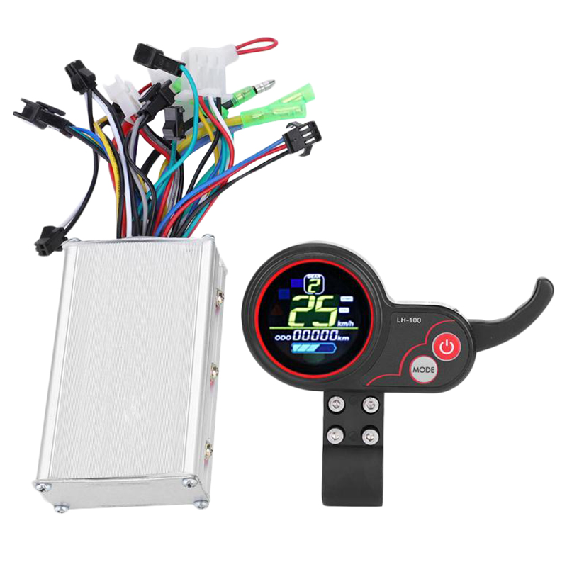 36V Electric Bicycle Controller 250/350W Scooter Lcd Display Control with Shift Switch|Trainers & Rollers| |  - title=