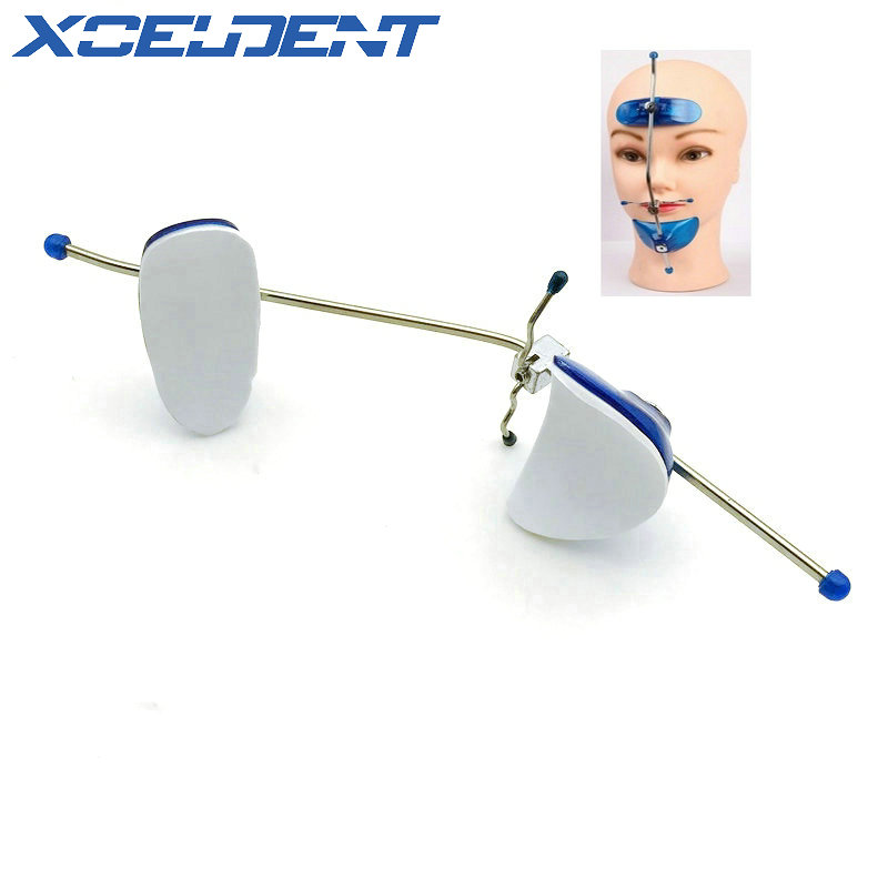 1pcs Adjustable Dental Orthodontic Face Mask Single Pole Head Cap Underbite Correction Headgear Front Traction Dentist Tools