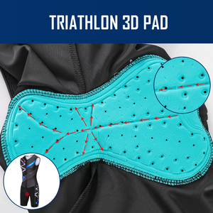 Image 5 - Triathlon Cycling Jersey Sleeveless Cycling Clothing Man Skin Suit Bike Jersey Set Triathlon Suit For Swimming Running Riding