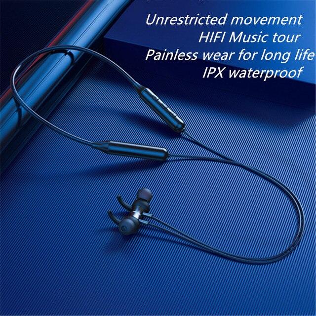 Magnetic Sports Running Headset- Waterproof Sport earbuds Noise reduction Headphones 3