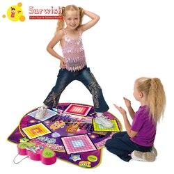 Многофункциональная музыкальная игра ковер Фитнес Танец одеяло с музыкой для детей-SLW9726