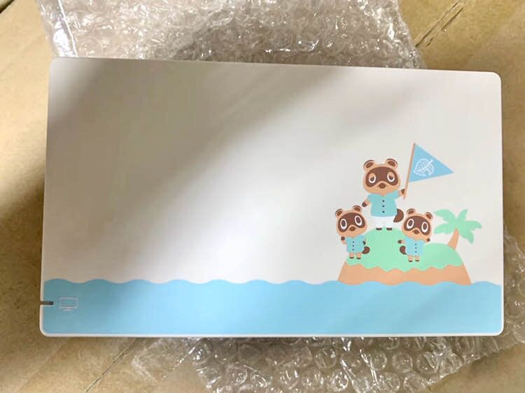 Limited Animal Crossing  Version Original  Charging Dock Set For Ns Switch TV Dock Stand With Logo For Ns Switch