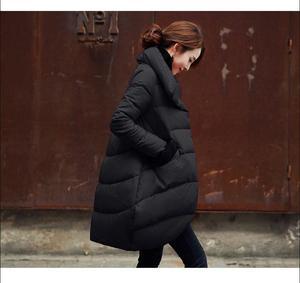Image 3 - Удлиненные куртки, черные, красные, синие, морские, для женщин и длинные секции, женские куртки
