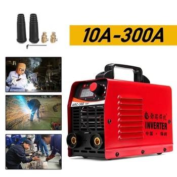(RU Fast shipping) ARC-300 220V LCD Electric IGBT Inverter MMA ARC Inverter welding machine