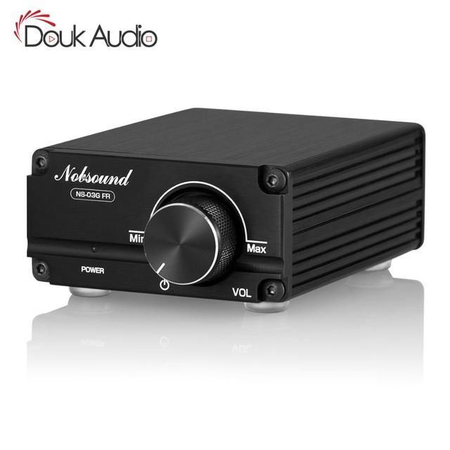 Douk Audio Hi Fi 100W Mini TPA3116D2 caisson de basses/amplificateur de puissance pleine fréquence amplificateur Audio numérique Mono canal