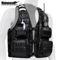 Rinowalk-Chaleco de ciclismo portátil, mochila para deportes al aire libre, senderismo, Maratón, correr, puede añadir bolsa de agua, paquete de chaleco de pesca