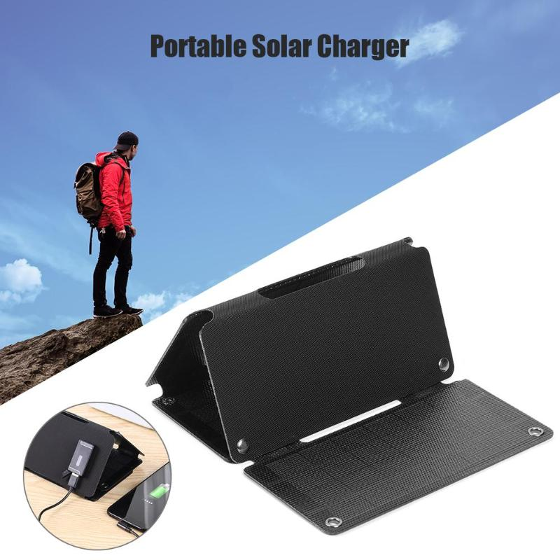 12W 5V Solar Panel Flexible ETFE Sunpower Portable Cell Charger High Conversion Rate High Durability for Smart Phone image