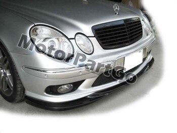 FRONT BUMPER ADD LIP SPOILER for Mercedes BENZ E-Class W211 E55 2003-2006  M084F 1