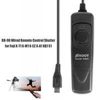 wired shutter SHOOT RR-90 Wired Remote Control Shutter Release Cable For Fuji Fujifilm X-T1/X-A1/X-M1/X-E2/XQ1/XP70 Photo Studio Accessories (2)