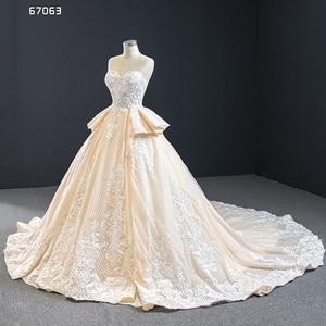 Image 2 - J67063 Jancember Quinceanera שמלות סטרפלס ללא שרוולים לפרוע אפליקצית דפוס תחרה עד בחזרה Vestidos Dulces 16