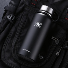 Outdoor Vacuum Spray Plastic 304 Stainless Steel Thermos Portable Large-Capacity Sports Kettle russian large capacity insulated stainless steel bottle outdoor portable travel kettle car kettle