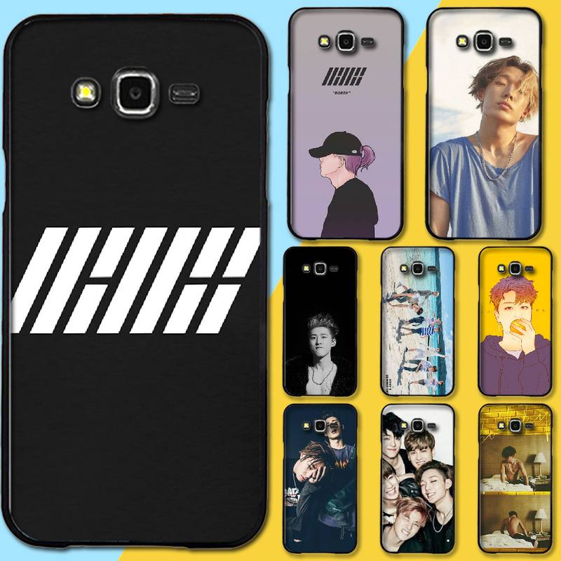 PENGHUWAN iKON <font><b>kpop</b></font> Bobby B.I. Smart <font><b>Coque</b></font> Shell Phone Case For <font><b>Samsung</b></font> Galaxy J7 J8 J3 J4 J5 <font><b>J6</b></font> <font><b>Plus</b></font> 2018 Prime image