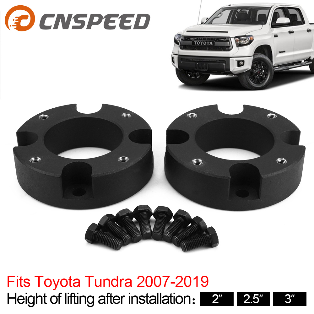 2pcs Front Leveling Lift Kit 2'' 2.5'' 3'' for Toyota Tundra 4WD 2WD 2007-2019 Car Lift Kits Auto professional Accessories image