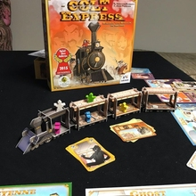 New Board Game Cards Game Ludonaute Colt Express Cards Game Party Games for Friends