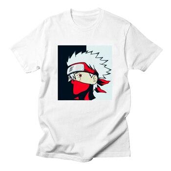 Naruto T Shirt Men Uchiha Itachi Uzumaki Sasuke Kakashi Gaara T-shirt Naruto Boruto Japan Anime Tees Top Tshirt