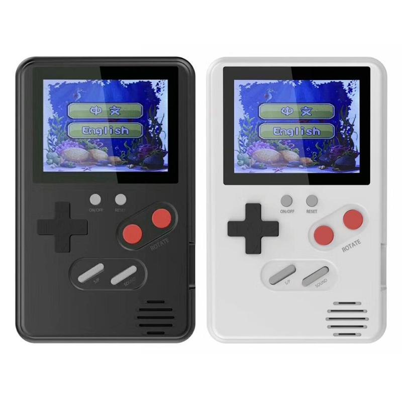 ALLOYSEED 2.4 inch LCD mini console handheld game console Built-in 168 Games Retro Portable Mini Classic Console for gamer hot