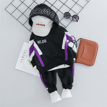 2019 New 2019 Autumn Baby Boys Girls Clothes Suits Toddler Infant Clothing Sets Hooded T Shirt Pants Children Sports Costume ideacherry children clothing sets hooded toddler leisure coats sweatshirt leggings suit for girls clothes pants sports suits