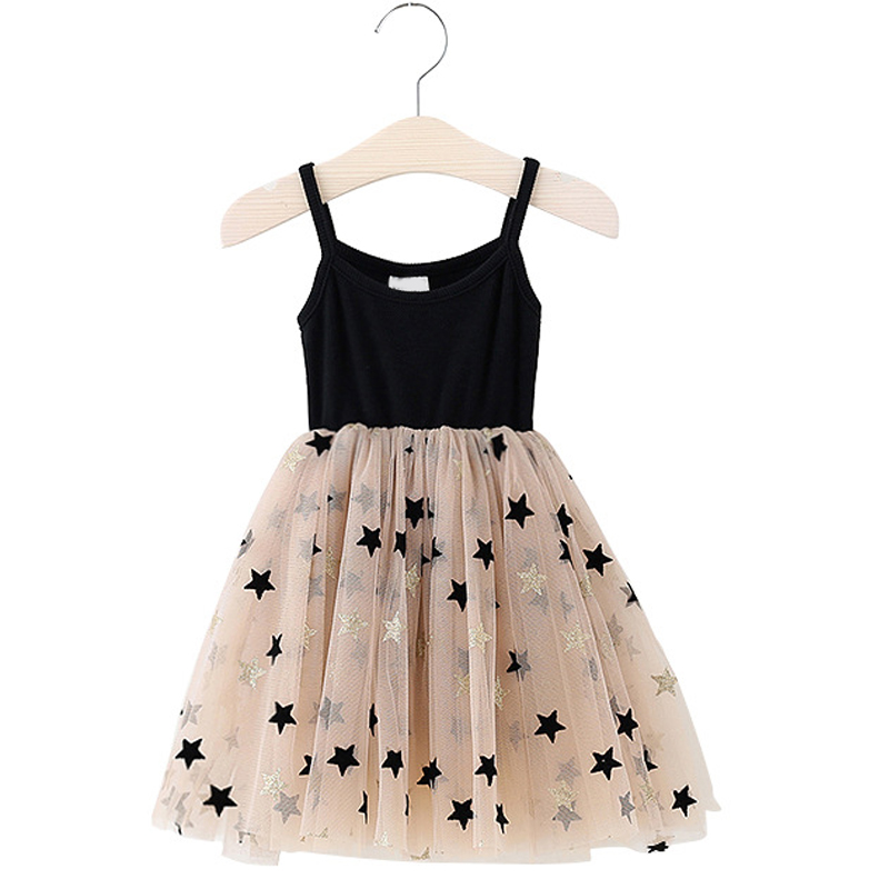 Fashion Girl Dress Baby Girls Clothes Summer Sling Party Tutu Kids Dresses For Girls Casual Children Clothing Princess Dress
